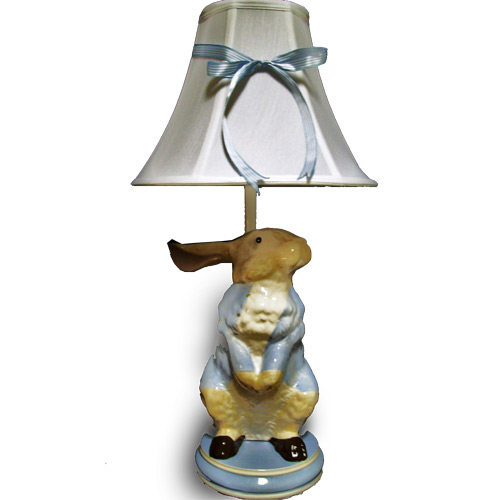 Peter rabbit table lamp bunnies bears decor ababy peter rabbit table lamp aloadofball Image collections