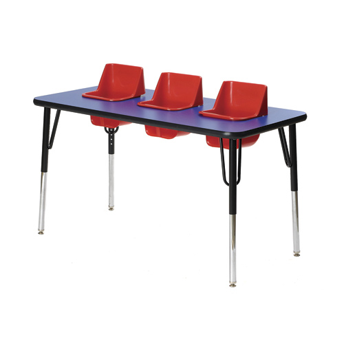 High Chairs Three Seat Toddler Table
