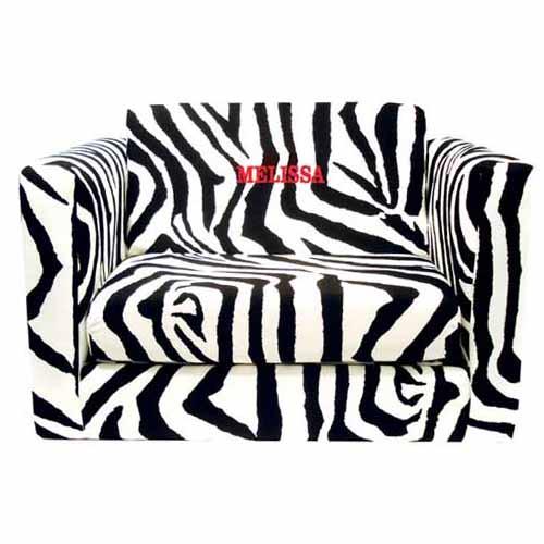 Perfect Zebra Print Sofa Sleeper