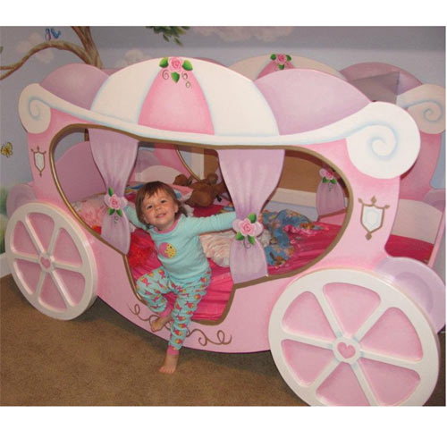 Princess Carriage Twin Bed Theme Beds Ababy Com