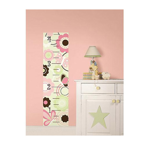 Butterfly Garden Growth Chart Wall Decal Growth Charts Ababy