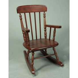 Child's Spindle Rocking Chair