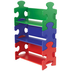 Puzzle Book Shelf