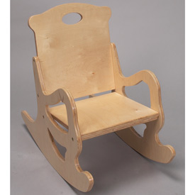 Children's Puzzle Rocking Chair