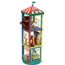 Circus 3-Tier Rotating Storage