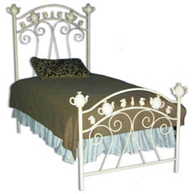 Teapot Iron Bed
