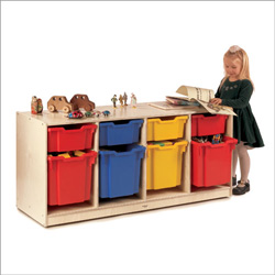 Kid Friendly Toy Organizer