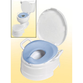 4-in-1 Soft Seat Toilet Trainer & Step Stool