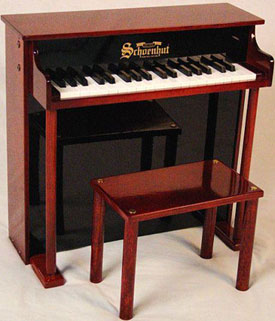 Traditional Deluxe Spinet w/Bench Piano