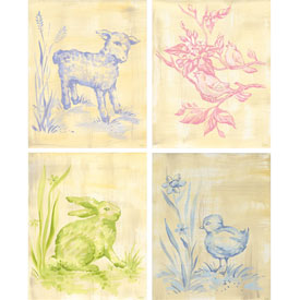 Toile Babies Canvas Wall Art