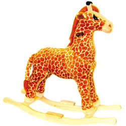 Plush Rocking Giraffe