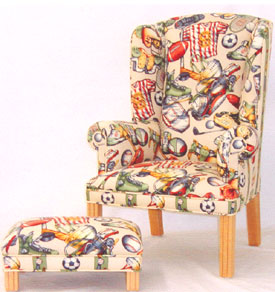 Kid's Wing Chair