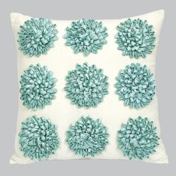 9 Dahlias Throw Pillow