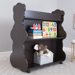 Mobile Bear Bookcase