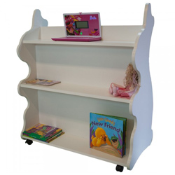 Mobile Rabbit Bookcase