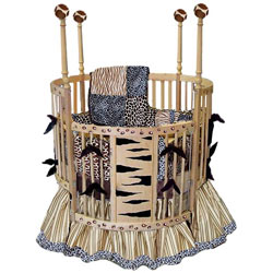 Safari Round Crib Bedding