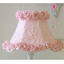 Pink Petals and Roses Lamp Shade