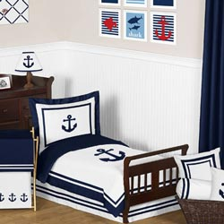 Anchors Away Toddler Bedding Collection