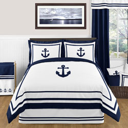 Anchors Away Twin/Full Bedding Collection