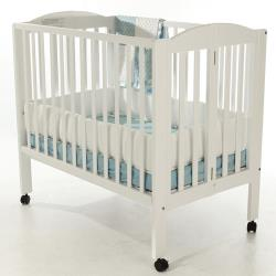 Arched Portable Folding Crib