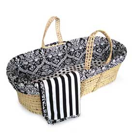 Retro Moses Basket