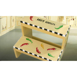 Hot Chilis Step Stool