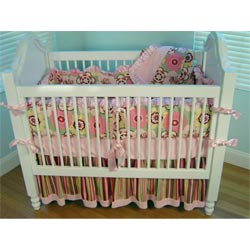 Blooming Blossoms Crib Bedding Set