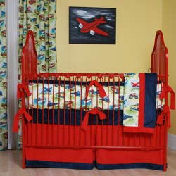 Vintage Toys Crib Bedding Set