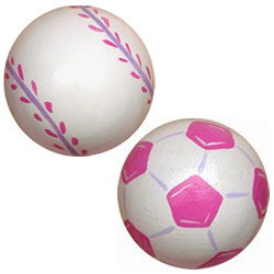 Girls Sports Knobs