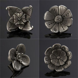 Flower Shaped Furniture Pulls