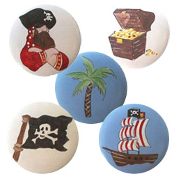 Pirate Ship Knob