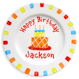 Birthday Cake Name Plate