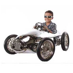 Limited Edition Chrome Kids Race Car