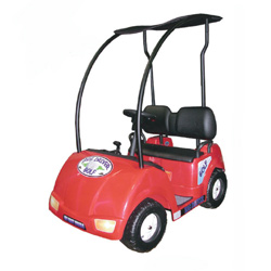 Red Big Driver Two Seater Golf Cart