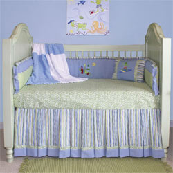 Surfer Crib Bedding Set