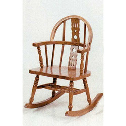 Oak Windsor Child Rocker