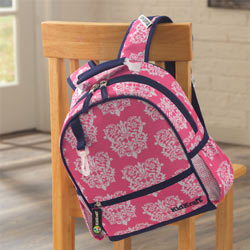 Damask Small Backpack