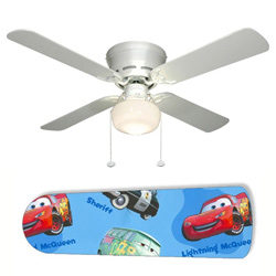 Disney Cars Ceiling Fan