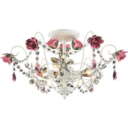 Rosavita Semi-Flush Light