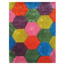 Exotic Hexagon Rug