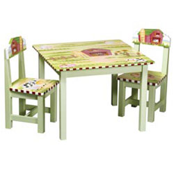 Little Farmhouse Table & Chair Set