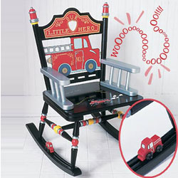 Children's Fire Engine Rocker