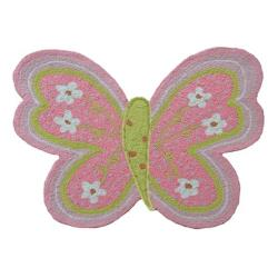 Flutterby Shaped Rug
