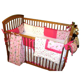 Fly Away Crib Bedding Set