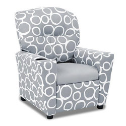 Freehand Storm Twill Kids Recliner