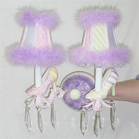 Funky Shoes Sconce