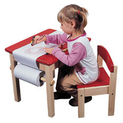 Art Table and Chair Set