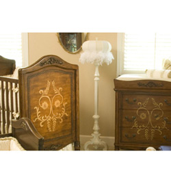 <font color=black>SPECIAL SAVINGS!</font> Old World Crib and Changer Combo