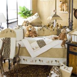 serengeti crib bedding set