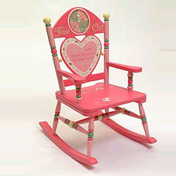 Girl's Time Out Rocking Chair